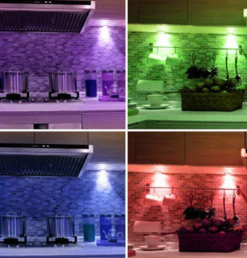 luz LED multicolor